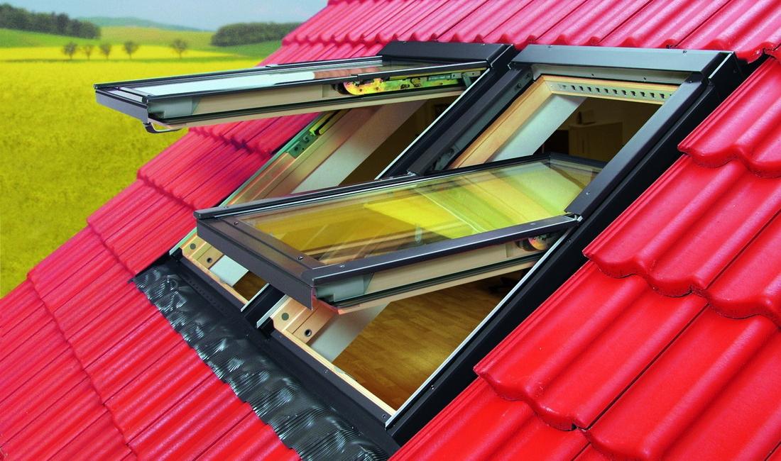 Мансардные окна. Светло под крышей